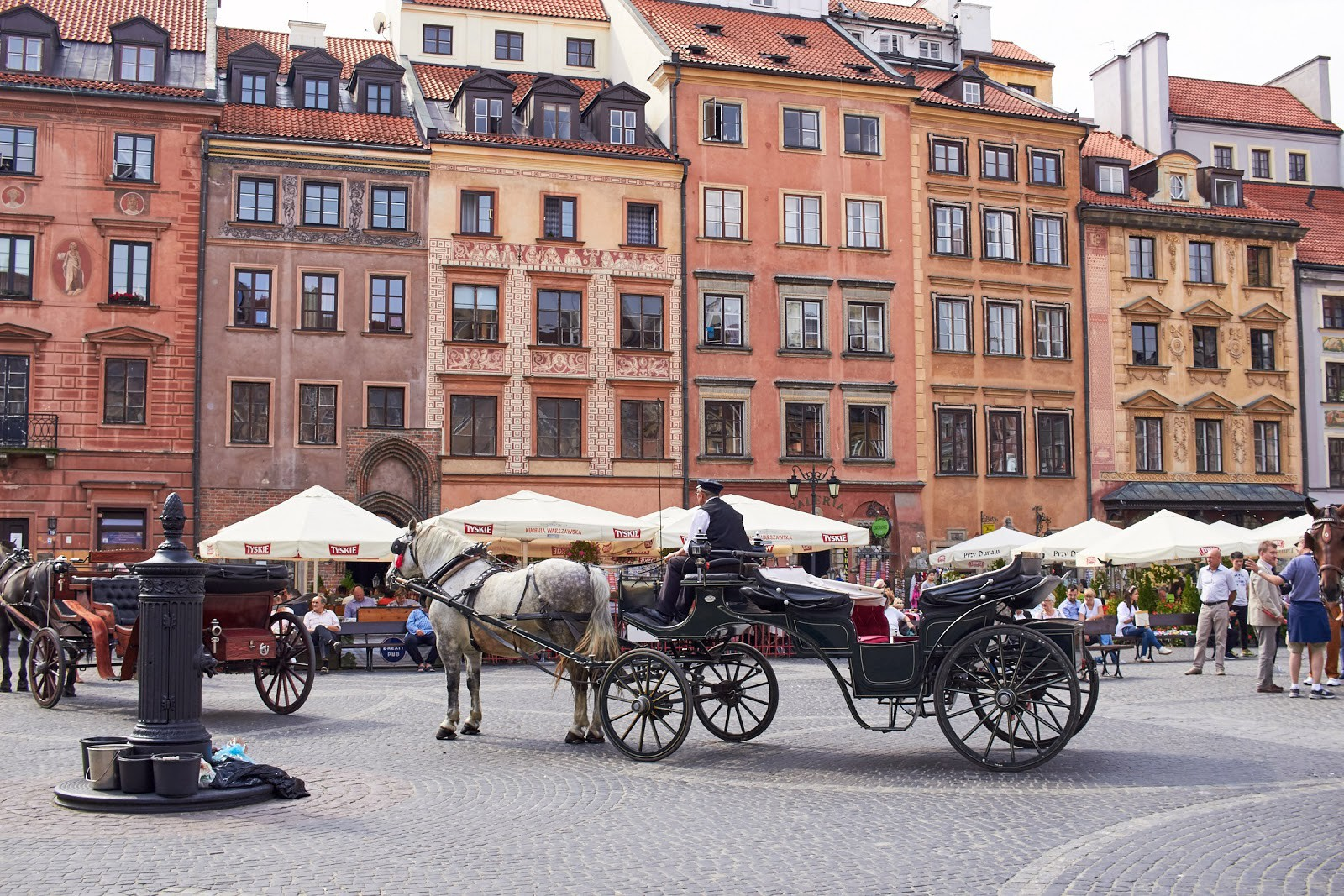 Visiting picturesque Warsaw